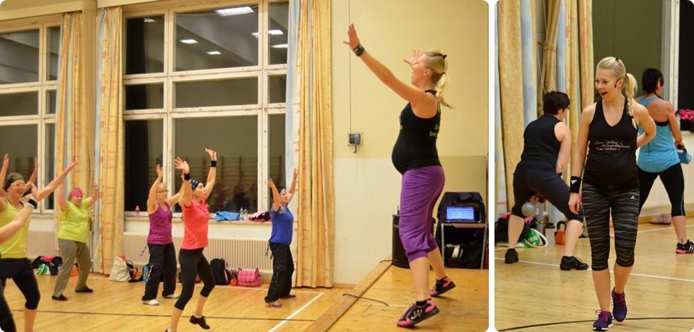 ohjaaminen raskaana living fitness